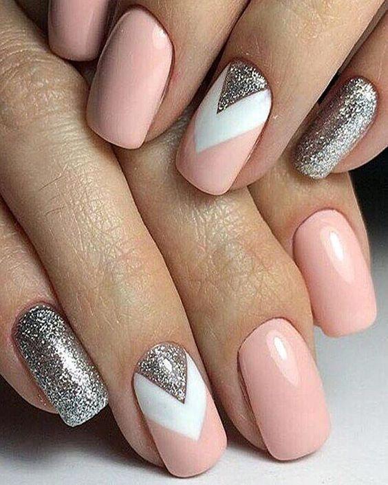 Pinterest// @ Nail_Inspo_ | Хрустальные ногти