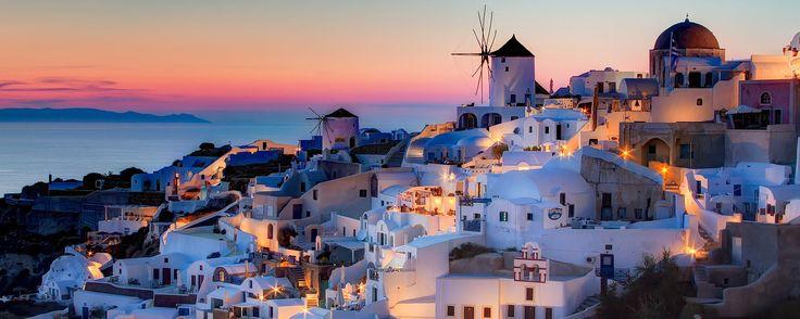 The amazing Fira of Santorini