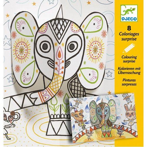 Djeco Ζωγραφική 'Το ελεφαντάκι'