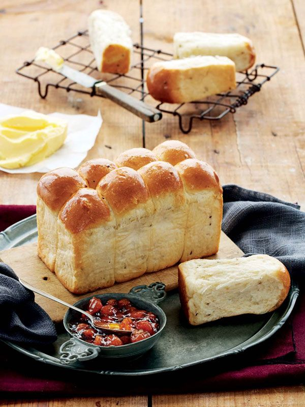 These traditional aniseed buns are simply delicious with a cup of strong coffee.