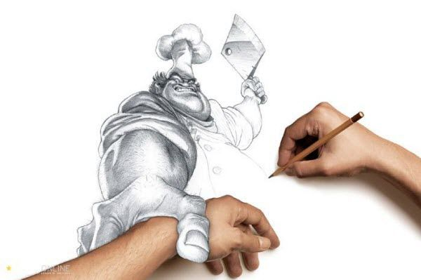 22 Creative 4D Artworks That Invade Reality: Hand, Drawings, Creative, 3D Drawing, Awesome, Illustration, Art, Pencil Drawing, Chief