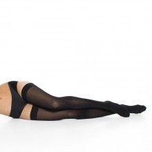 Thigh High Compression Stockings for long distance travel. Also have leggings, and knee highs