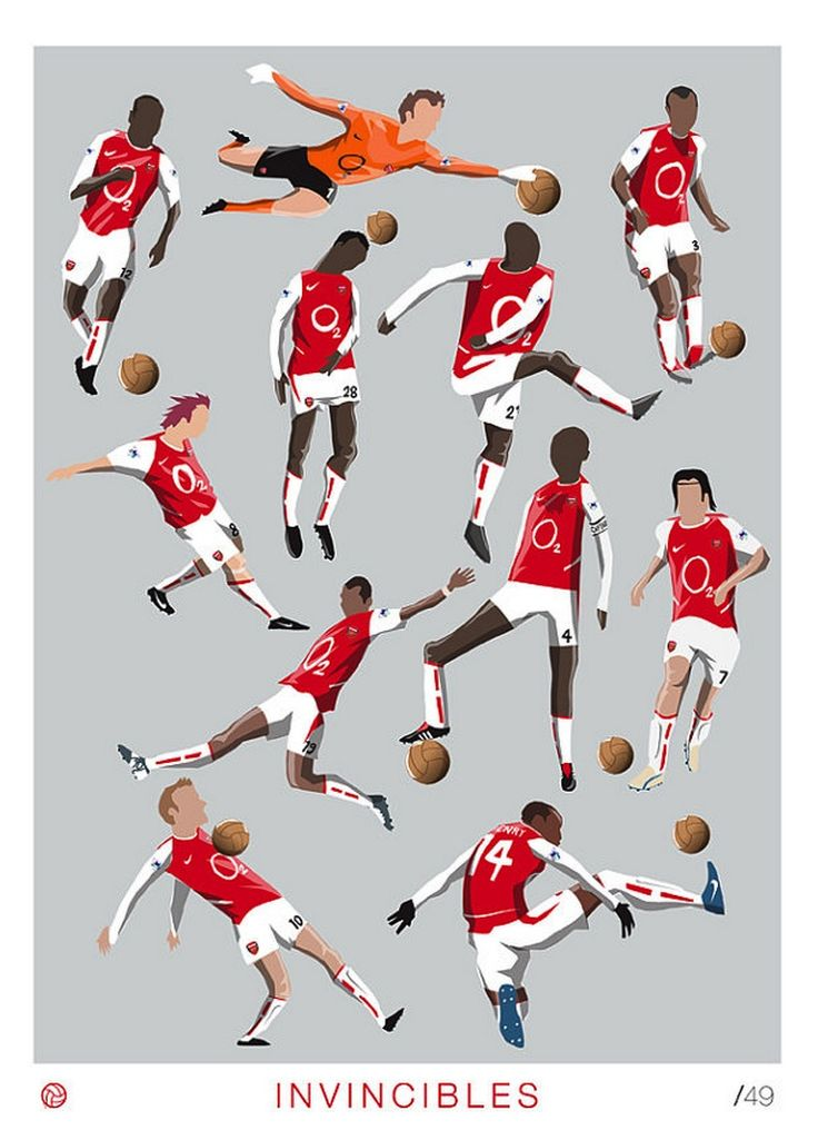 The Invincibles by Dan Leydon / Arsenal