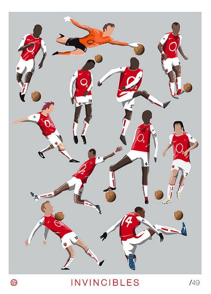 The Invincibles by Dan Leydon / Arsenal