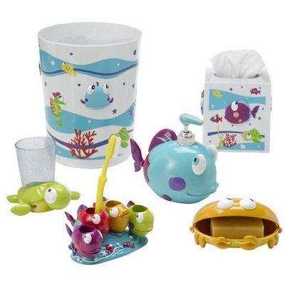 18 Best Kids Bathroom Images On Pinterest Kid Bathrooms Baby Room Rh Co Uk Fish Themed Sets Rug Set
