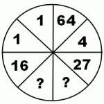 Найти закономерность и вставить пропущенные числа