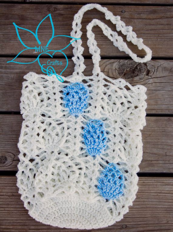 Pineapple Market Bag by MNECrafts92 on Etsy, $5.50