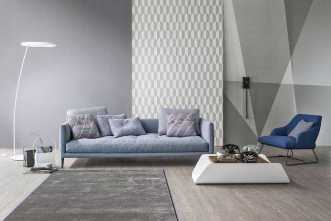 Pohovka Coral, čalounění látka, design Sergio Bicego, Bonaldo, cena od 67 760 Kč, www.cskarlin.cz