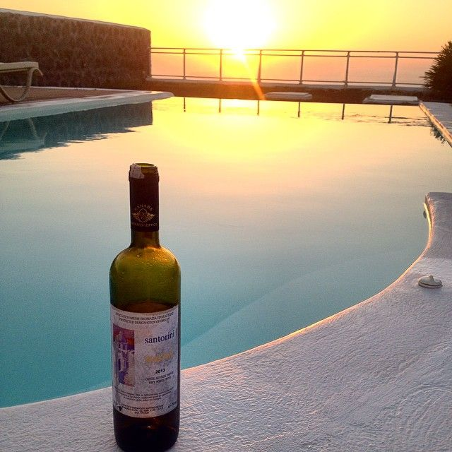 Drink local #Wine by the pool at #ThermesVillas Photo credits: @jpferrier