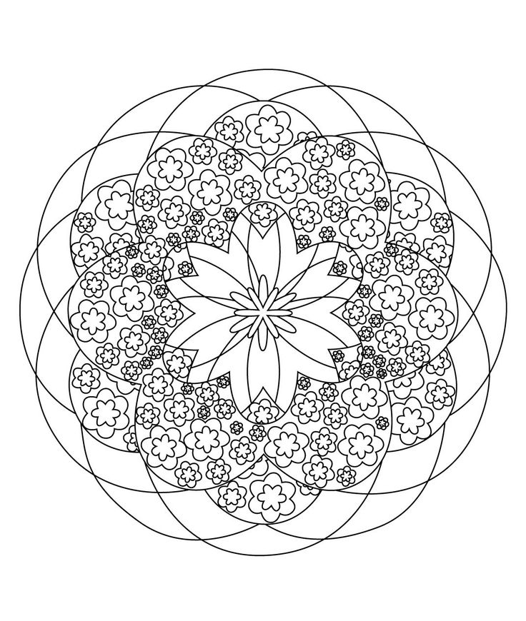 540 best images about mandalas coloring pages embroidery patterns etc on pinterest - Mandala adulte ...