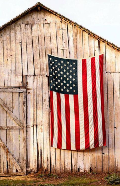Every home in this country should have a flag this big on their property