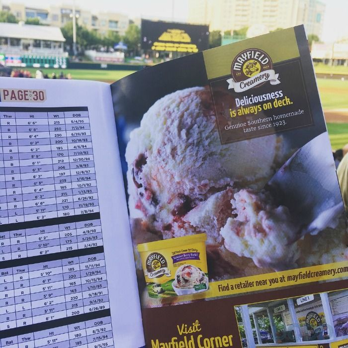 Mayfield Creamery ice cream is available throughout Dr. Pepper Ballpark, including at a dedicated, branded Corner Ice Cream Parlo.