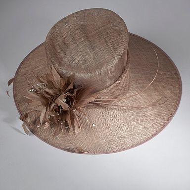 hat for wedding