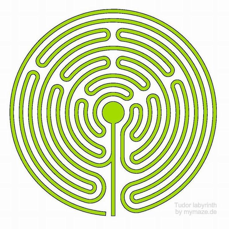 labyrinth | The Tudor Labyrinth at Lyveden New Bield (GB) | blogmymaze