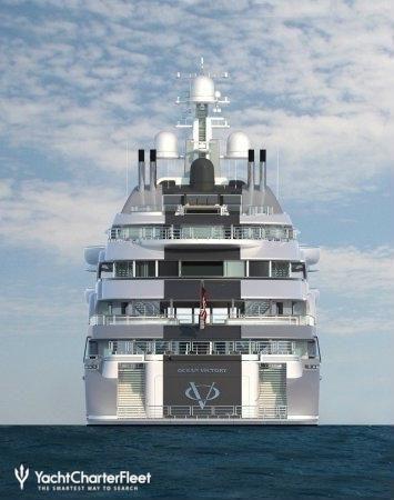 OCEAN VICTORY Yacht Photos - Fincantieri   Yacht Charter Fleet