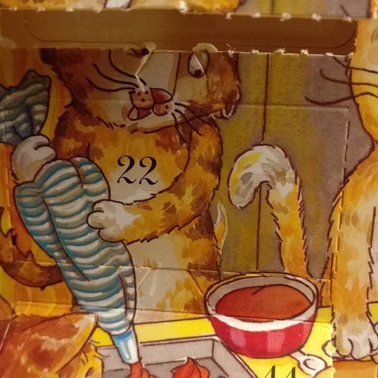 #december #22th #nopeople  #adventcalendar #cats