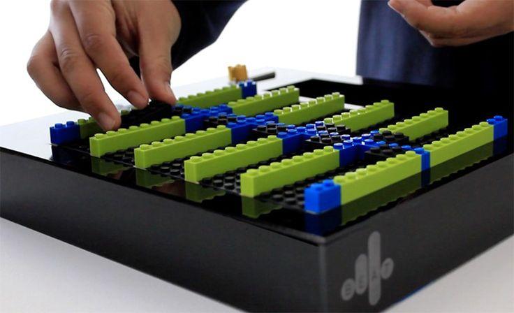 Cardona + Rong + Kim utilizan bloques de Lego para construir cajas musicales digitales