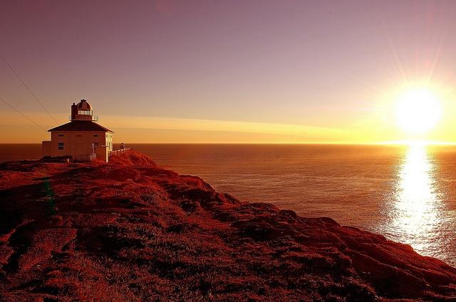 Cape Spear Sunset by Newfoundland and Labrador Tourism, via Flickr