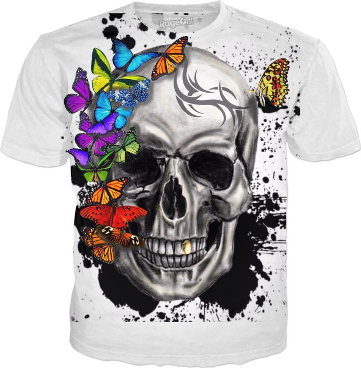 Check out my new product https://www.rageon.com/products/butterfly-skull-9 on RageOn!
