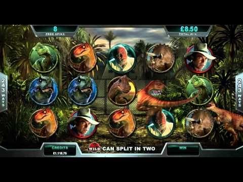 ▶ Jurassic Park™ Online Slot Game - YouTube