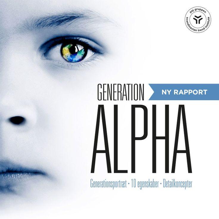 Generation Alpha - Rapport - pej trend