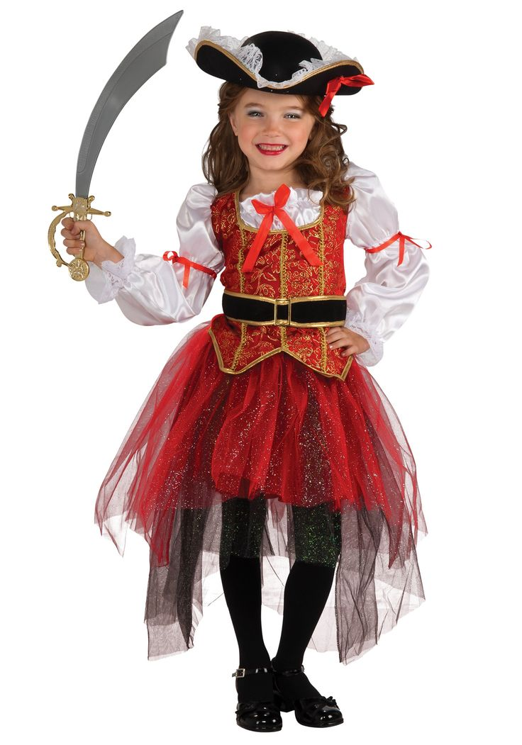 pirate family costumes pirate princess costumeskids - Little Girls Halloween Costume Ideas