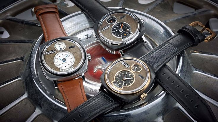 REC Watches has a new collection of high-end timepieces made from old Ford Mustangs and styled to resemble the gauges of the classic Pony car.