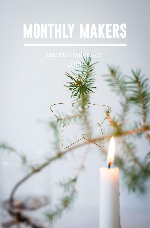 DIY Minimalistic Christmas Ornaments