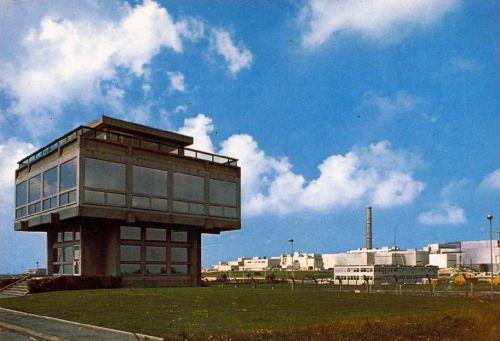 La Hague, centre de retraitement des déchets nucléaires.