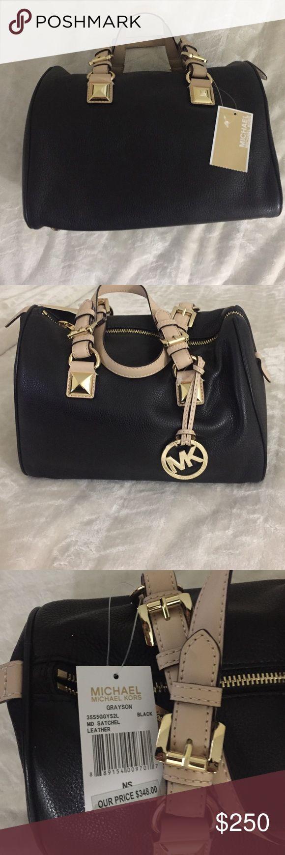 Michael Kors Grayson Bowler bag Brand new Michael Kors Grayson Bowler bag. Price tag attached. Never worn. Original price $348 Michael Kors Bags Mini Bags