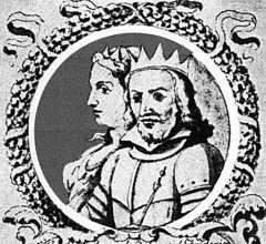 RE MARTINO IL GIOVANE   La regina Maria di Sicilia e Martino il Giovane