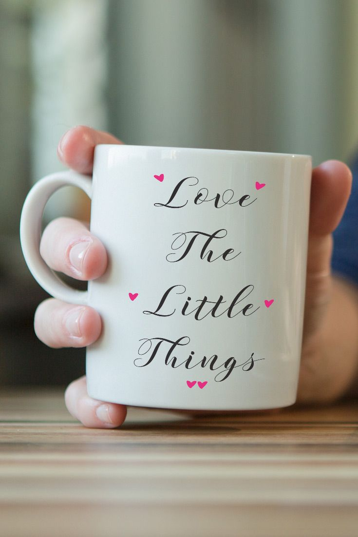 Coffee Mug - Love The Little Things - ONLY $6.99! - https://www.sunfrog.com/126482059-758748965.html?68704