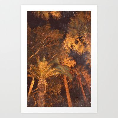 Palms Art Print by anasu007 - $18.00
