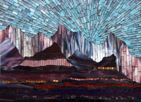 12 Best Mosaic Mountains Images On Pinterest Mosaic