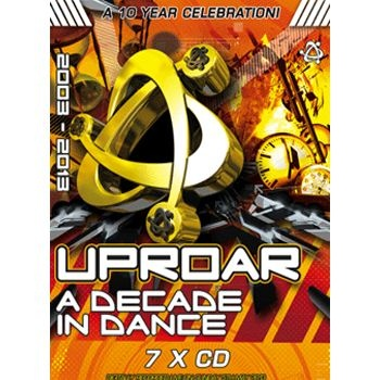 Uproar A Decade In Dance - 7xCD Pack Label:Uproar  Catalogue Number: UPROARDID Format: 7 x CD Styles: Uproar £17.49 (£20.99 inc VAT)