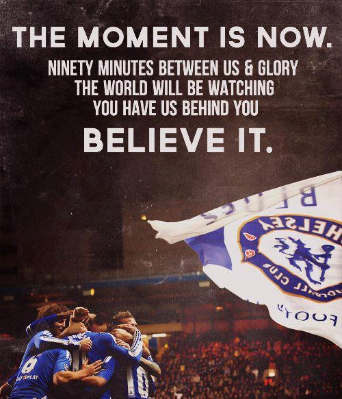 the moment is now............