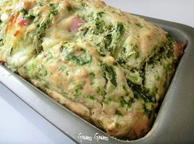 Plumcake salato agli spinaci | Ricetta