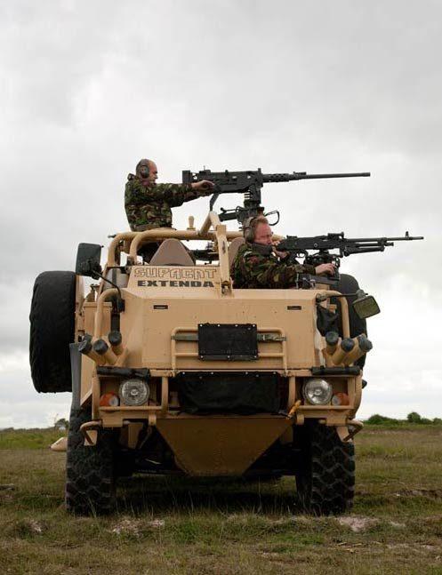 machine gun mounts for vehicles
