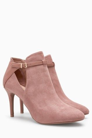50b8b3623f3 Buy Rose Forever Comfort Open Side Shoe Boots from the Next UK online shop