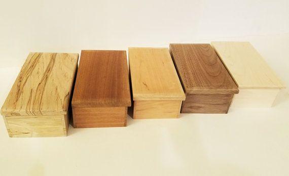 Unfinished Wood Box 8x4x3.25Unfinished Jewelry by HandmadebyBryanC