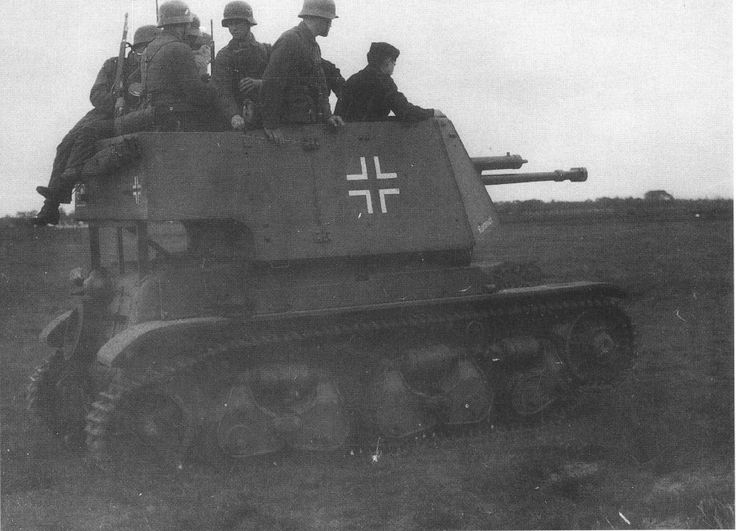 4.7 cm Pak(t) auf PzKpfw R 35(f)   by Krueger Waffen