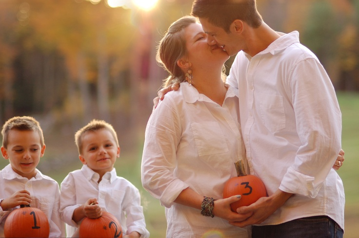 fall baby announcements