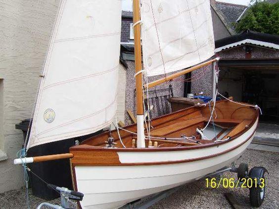 Fyne Four lightweight clinker sailing dinghy