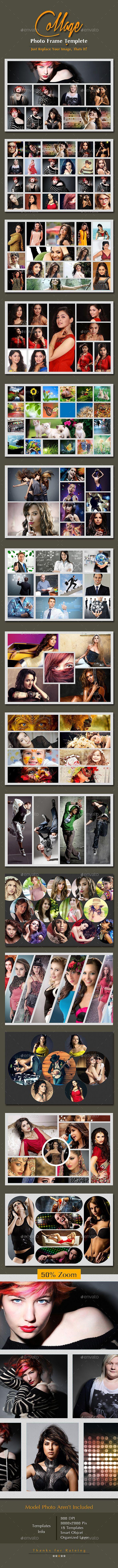 College Photo Frame Template PSD #design Download: http://graphicriver.net/item/college-photo-frame-templete/9959997?ref=ksioks