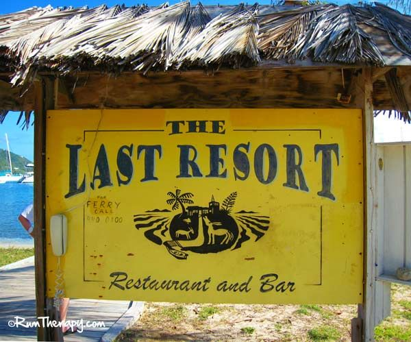 The Last Resort, Bellamy Cay, British Virgin Islands. Goats, dogs, parrots, rum drinking donkeys and Al, the Singing Chef! Sound wild? We sure enjoyed it!