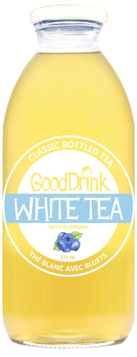 The newest flavor to the line up - White Tea with Blueberry - Yum!