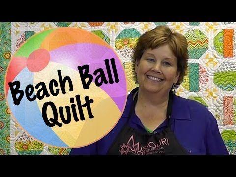 Beach Ball Quilt Tutorial From Missouri Star Quilt Company