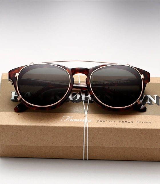 Han Kjobenhavn Sunglasses. I want these so bad.