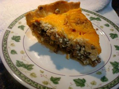 Smoky Mountain Café: Cheeseburger Pie from Simply Suppers and Yes, A GIVEAWAY!!!!!!