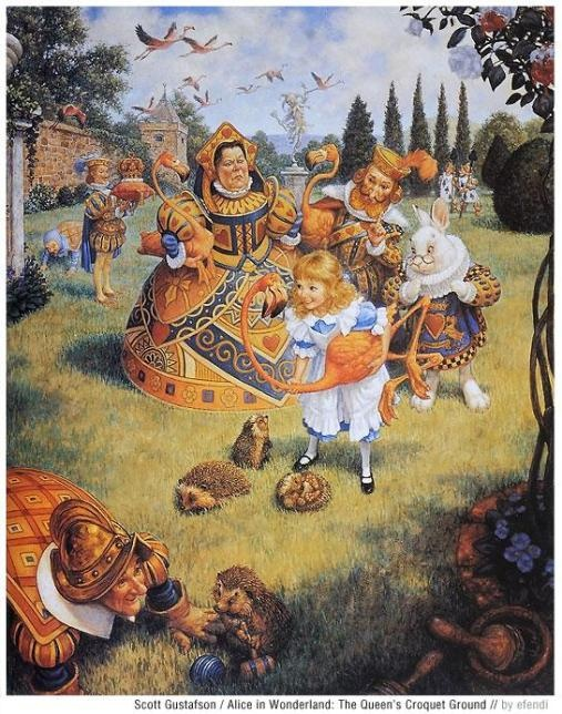Alice in Wonderland by Scott Gustafson